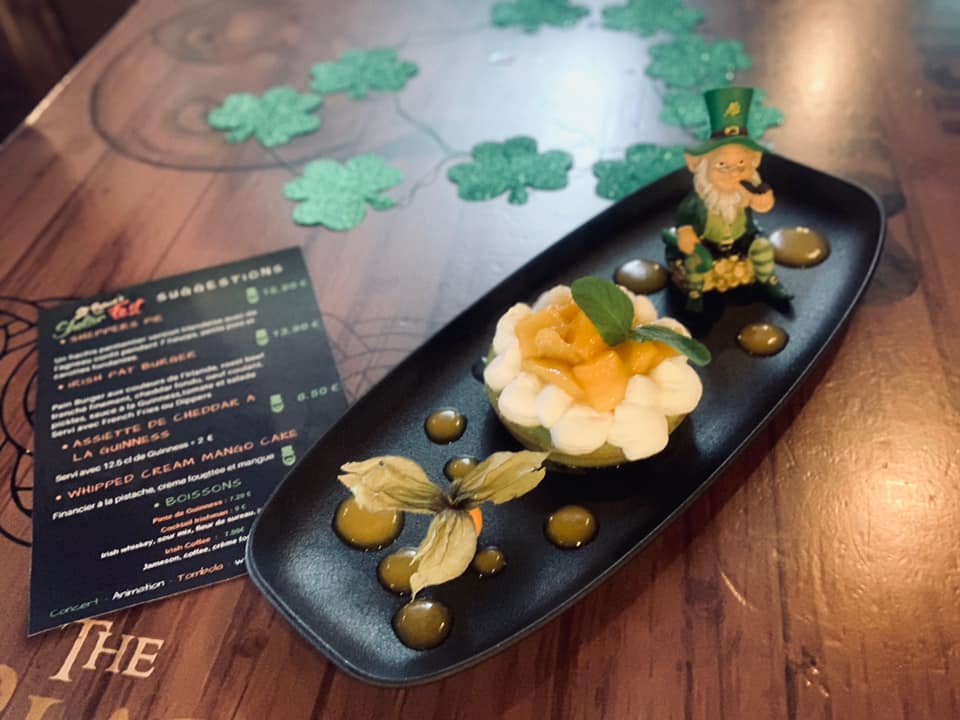 SUGGESTIONS MENU - ST PATRICK